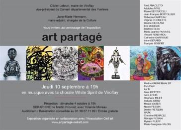 ART PARTAGE. VIROFLAY 2015