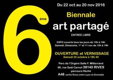 6ème biennale de l'art partagé