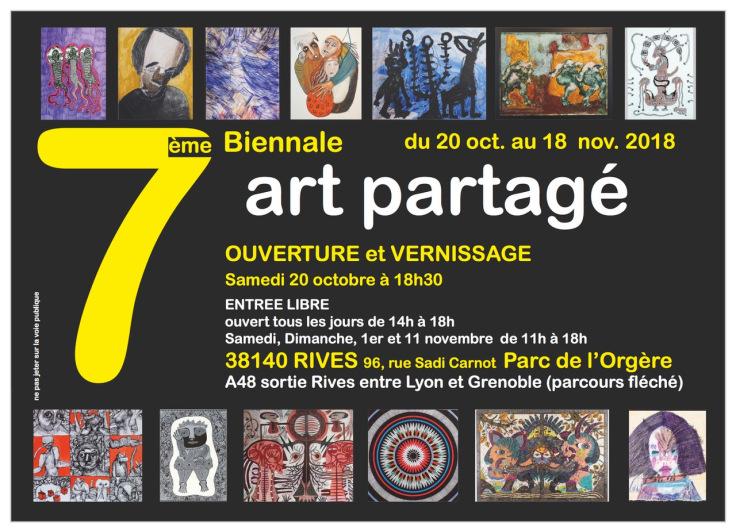 7eme biennale de l'art partagé