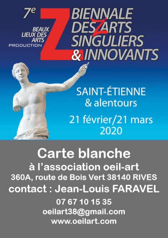 7e BIENNALE DES Z'ARTS SINGULIERS & INNOVANTS (1)