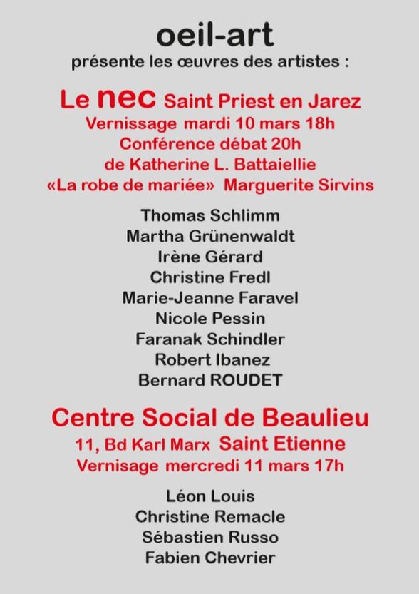 7e BIENNALE DES Z'ARTS SINGULIERS & INNOVANTS (2)